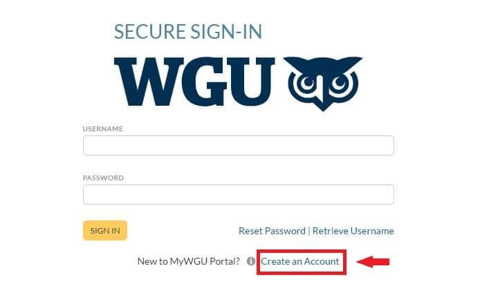 WGU Signup